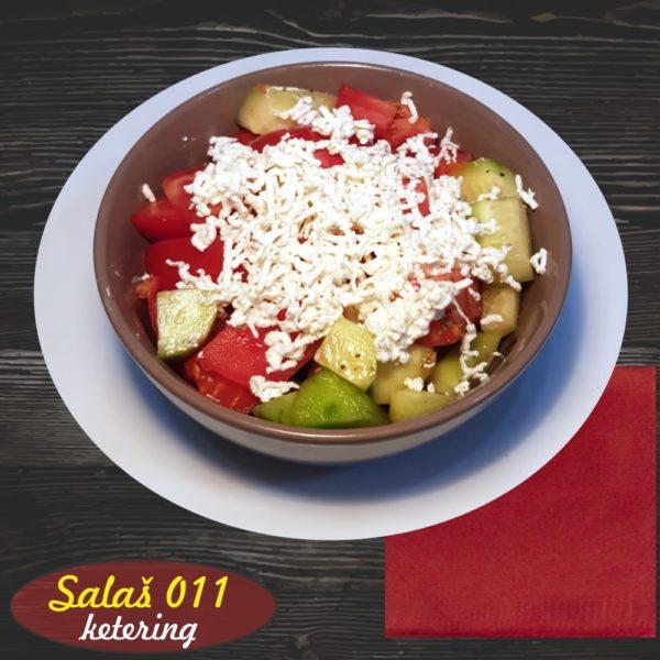 Šopska salata Salaš011 ketering