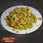 Pasta sa piletinom u kari sosu Salaš011 ketering
