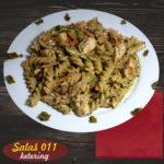 Pasta sa piletinom u pesto sosu Salaš011 ketering