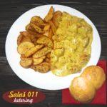 Piletina u kari sosu Salaš011 ketering