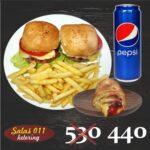 Burgeri, pita i pepsi Salaš011 ketering