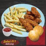 Kranč piletina sa pomfritom Salaš011 ketering