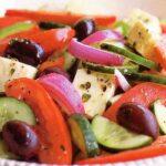 web Grčka salata porcija Salaš011 ketering